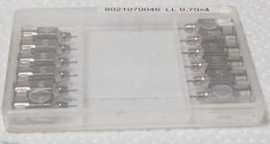 Kanülen für TBC-Tests – technisch Sauber aber nicht steril. Foto: WiSiTiA/aw