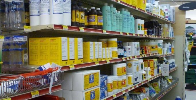 Antibiotika für Nutztiere gibt es in den USA rezeptfrei im Landhandel.