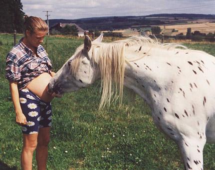 schwangere TierŠrztin