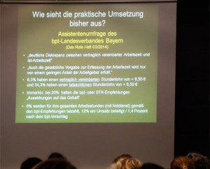 """Carsten Vogt: """"Praktische Umsetzung der bpt-Empfehlungen zur Vergütung von Assistenten."""""""