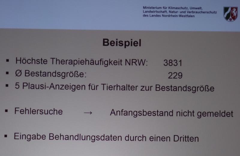 """Datenproblem Nr. 2: Tierhalter geben trotz """"Warnhinweisen"""" falsche Zahlen ein. (© MKULNV-NRW)"""