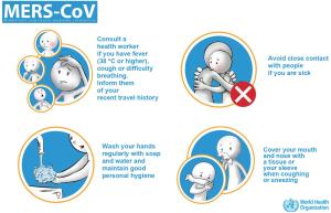 MERS - WHO gibt Ratschläge, wie man sich schützen kann. Quelle: WHO