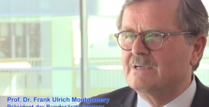 Prof. Frank Ulrich Montgomery, Präsident der Bundesärztekammer.