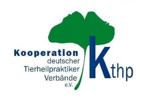"""Logo der """"Kooperation deutscher Tierheilpraktikerverbände"""". Der Dachverband repräsentiert fünf Berufsverbände vom Tierheipraktiker bis zum Tierhomöopathen. (© KTHP)"""