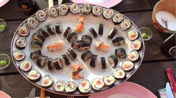 sushi Ølstykke to sind
