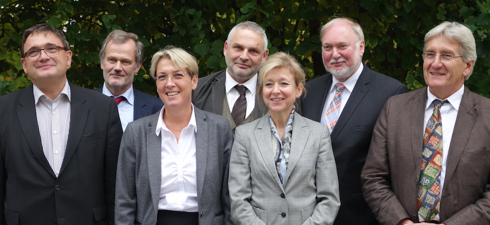 Das neue Präsidium der Bundestierärztekammer: (Foto: ©WiSiTiA/jh)