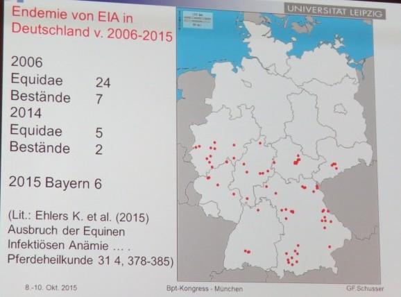 EIA Verbreitung in Deutschland