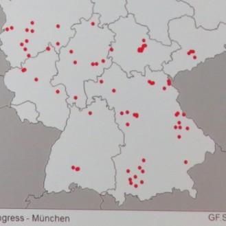 Hotspot Süddeutschland: Die EIA-Ausbrüche der letzten zehn Jahre (2006 bis 2015). (©Folie Prof. G.H. Schusser/bpt-Kongress München / Foto: WiSiTiA/aw)