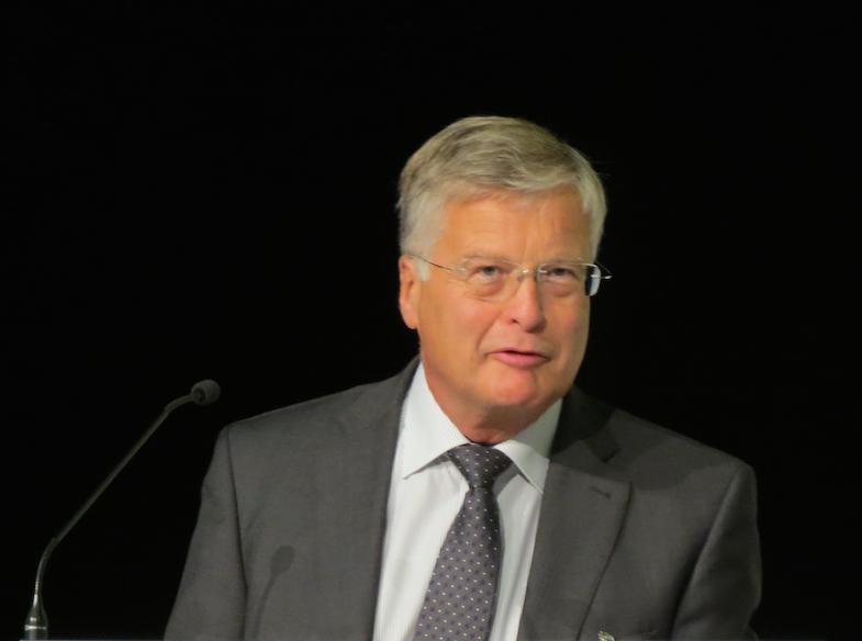 bpt-Präsident. Dr Hans-Joachim Götz. (Foto: © WiSiTiA/aw)