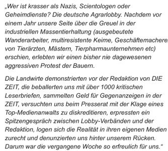 Wortlaut des Facebook-Posts von DIE-ZEIT-Autor Christian Fuchs.