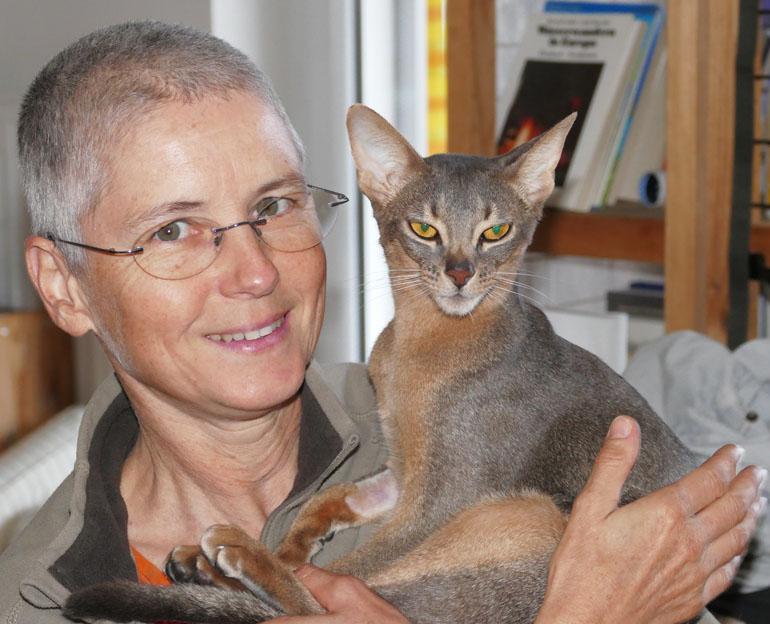 Sabine Schroll, Tierärztin aus Österreich