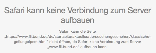 Verlinkung ins Nirgendwo: Deep-Links auf die alte fli.bund.de-Adresse. (screenshot:10.12.2015)