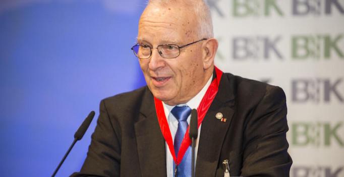 Abschied nach acht Jahren BTK-Präsidentschaft und 37 Jahren Standespolitik: Prof. Dr. Theo Mantel.