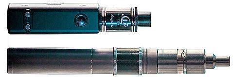 E-Zigaretten verdampfen aromatische, zum Teil auch nikotinhaltige Flüssigkeiten. (Foto: © wikipedia/CFCF)