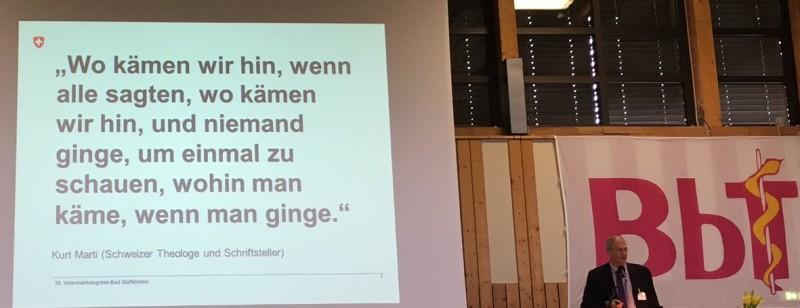 Bereitschaft zur Veränderung – Change Management-Vortrag in Bad Staffelstein. (Foto: WiSiTiA/jh)