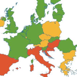 EU-Kommission: Der Antibiotikaeinsatz sinkt, wenn das Wissen über Antibiotika, deren Wirkung und die Resistenzentwicklung steigt. Grafik: © EU-Kommissiom)