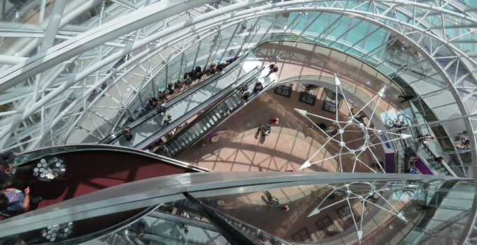 Treppenhaus CCD von oben