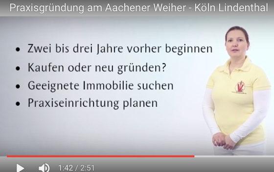 Praxisgründung – Erfahrungbericht im Video. (Foto: © TVD-Video)