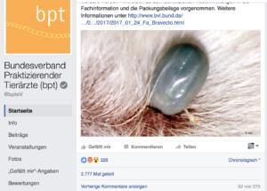 bpt-Post: Futter für die Hexenjagd oder Aufklärung? (Bild: Screenshot Facebook)