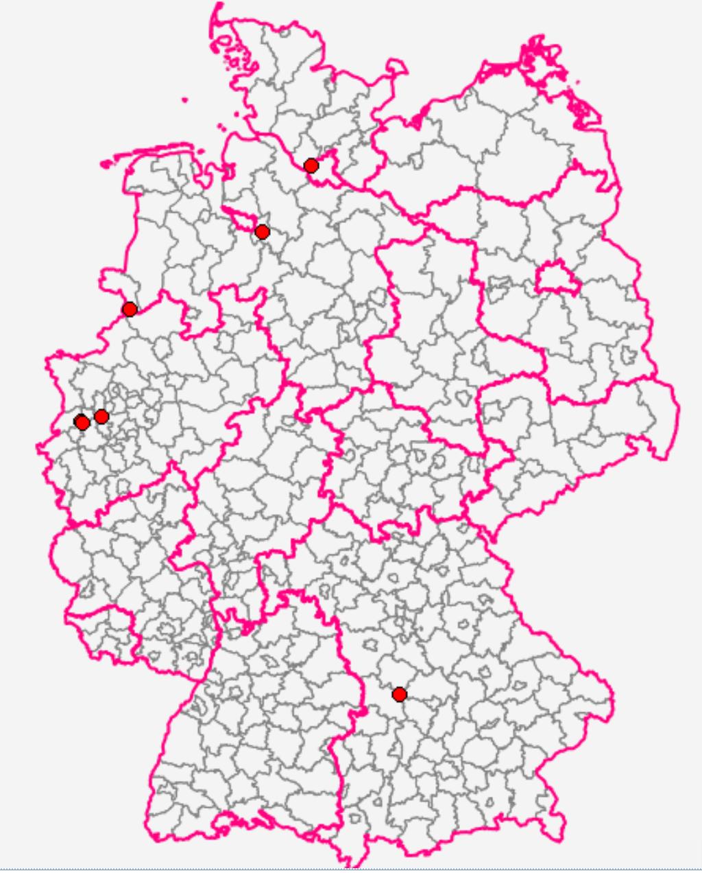 karte nrw niederlande
