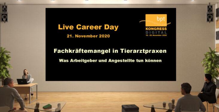 Themen- und Terminhinweis auf digitalen bpt Career Day am 21. 11.2020